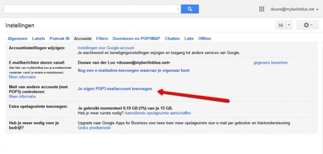 Gmail. Afbeelding 2