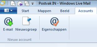 Windows Live Mail-stap1-optie