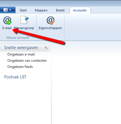 Windows Live Mail 2012. Afbeelding 2.