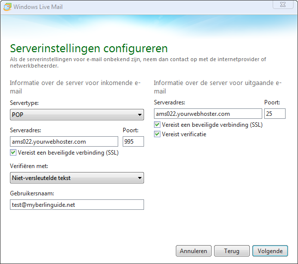 Windows Live Mail 2012 Afbeelding 4