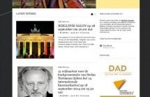 Screenshot van website: berlijnseavonden.de