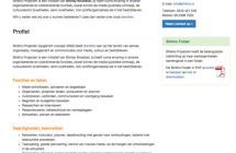 Screenshot website Shikho Projecten